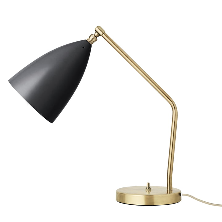 Gubi - Gräshoppa table lamp, black