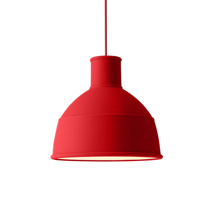Unfold pendant lamp from Muuto in Dusty Red