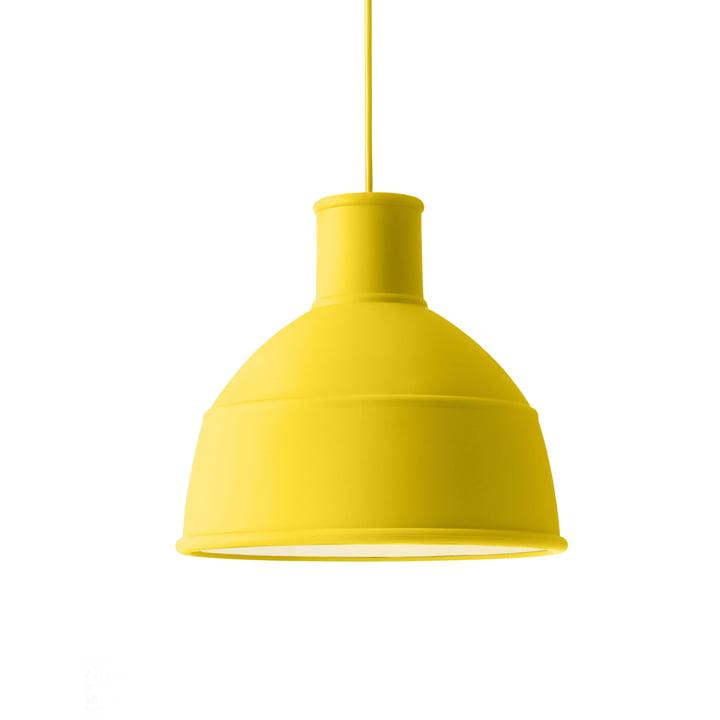 Unfold pendant lamp from Muuto in yellow