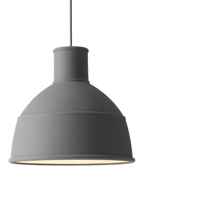 Unfold Pendant light from Muuto in grey