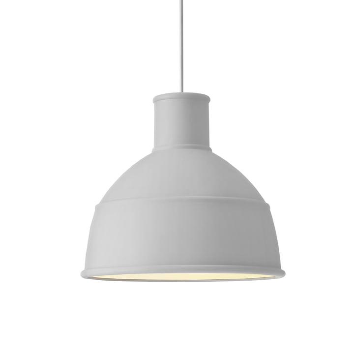 Unfold pendant lamp from Muuto in light grey
