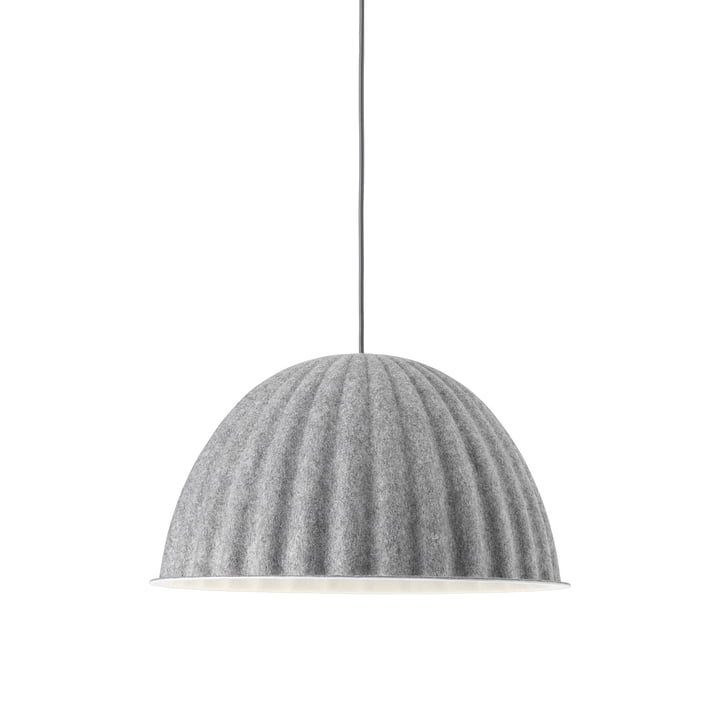 Under the Bell pendant lamp Ø 55 cm from Muuto in grey