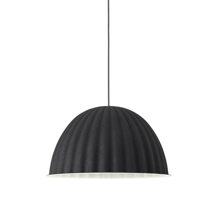 Under the Bell pendant lamp Ø 55 cm from Muuto in black