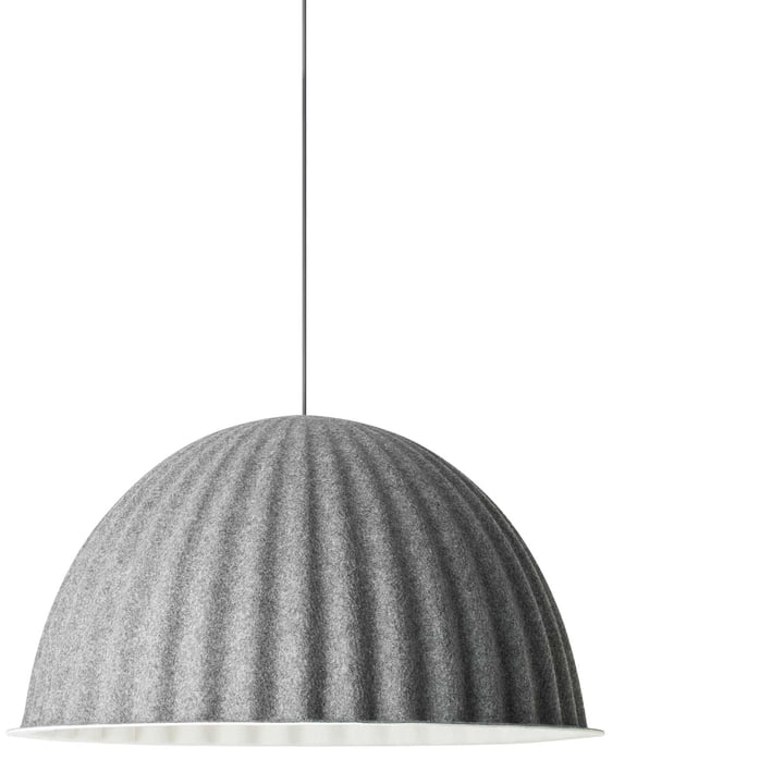 Under the Bell Pendant lamp Ø 82 cm from Muuto in gray