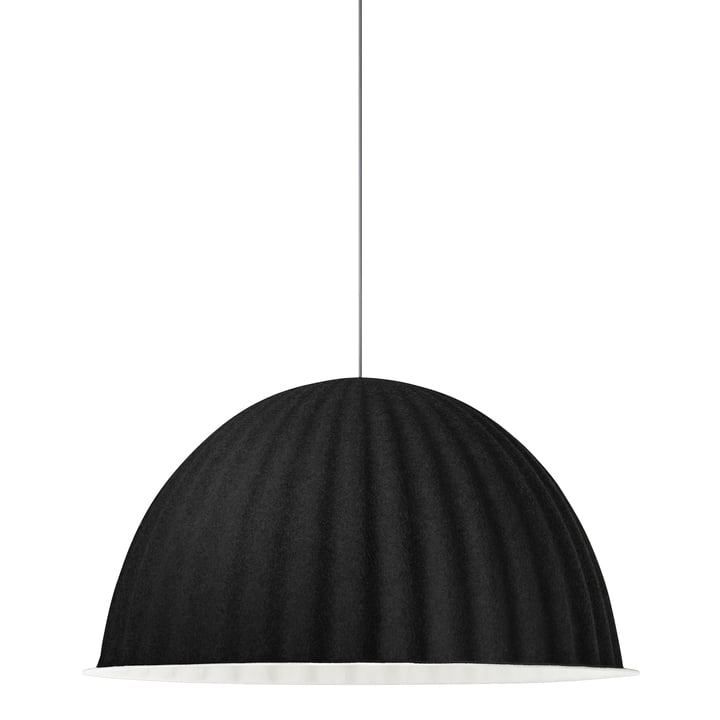 Under the Bell pendant lamp Ø 82 cm by Muuto in black