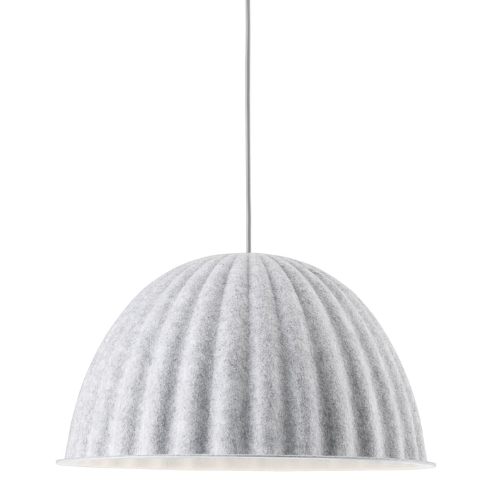 Under the Bell pendant lamp Ø 82 cm from Muuto in white melange