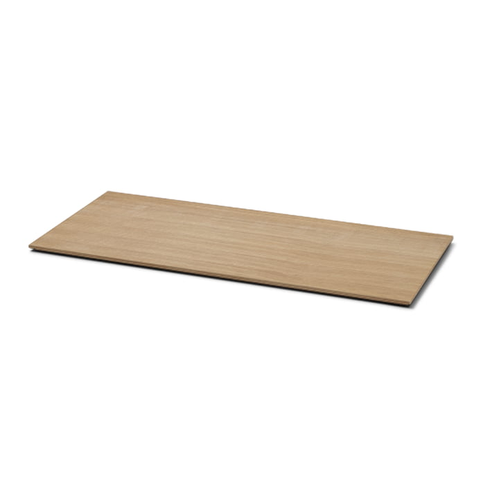 The tray for Plant Box large by ferm Living in natural oak