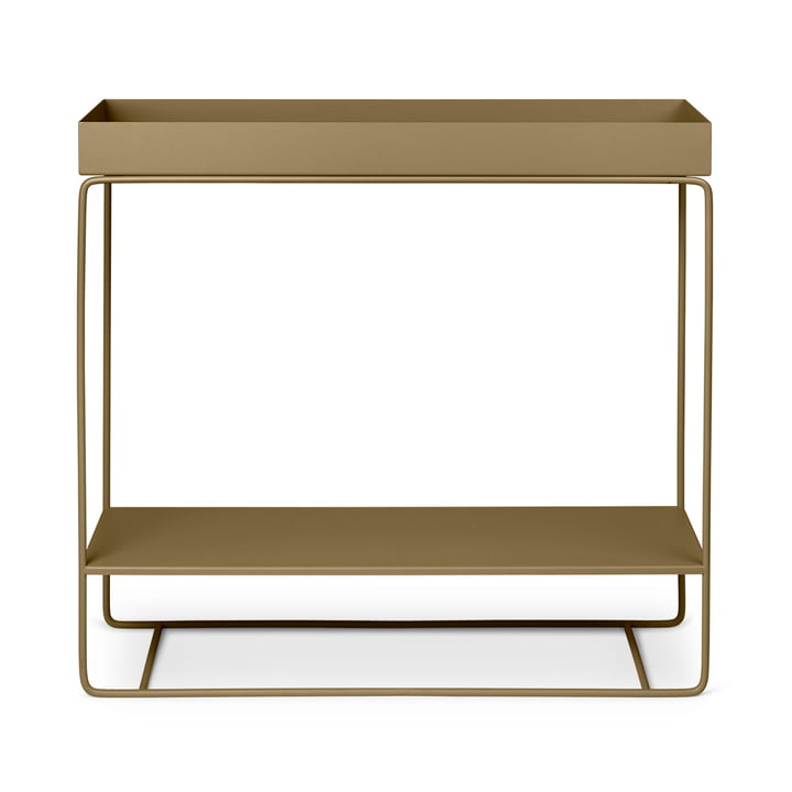 The Plant Box from ferm Living with 2 levels in olive