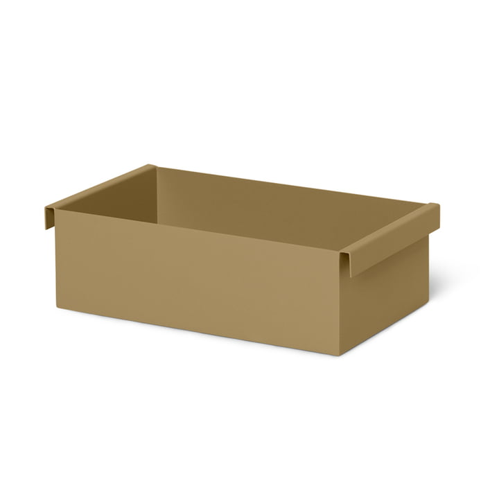 The container / insert for the Plant Box from ferm Living in olive