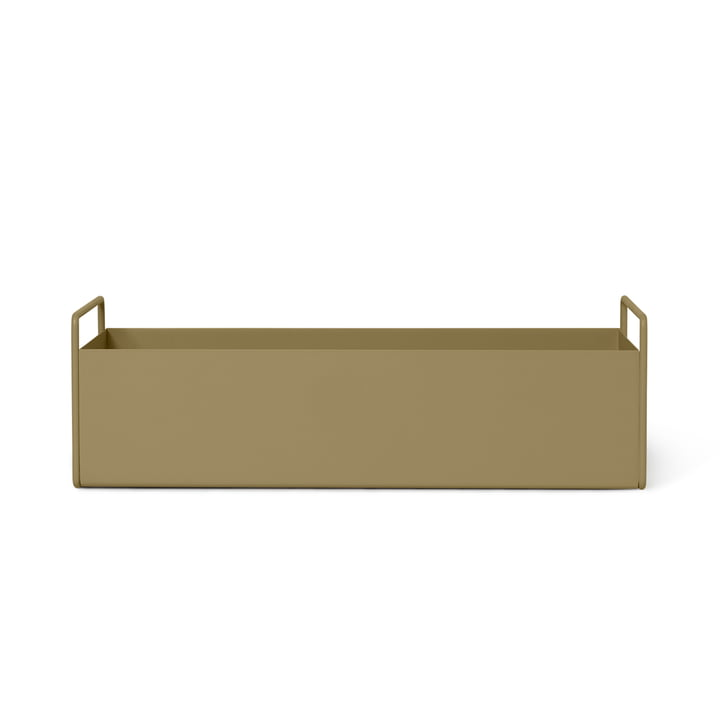 Plant Box small from ferm Living in olive
