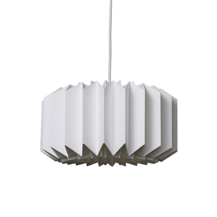 Pleats 154 Pendant Lamp M by Le Klint in Silk White