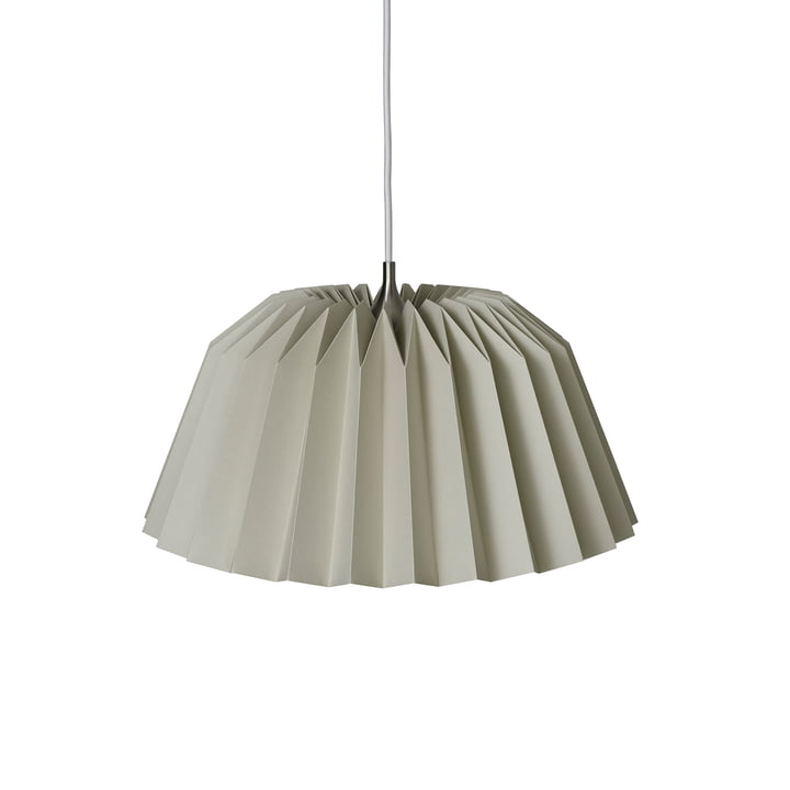 Pleats 116 Megatwo Pendant luminaire M from Le Klint in Soft Sand