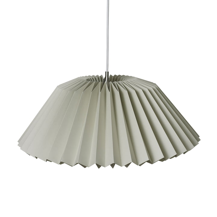 Pleats 116 Megatwo Pendant luminaire L from Le Klint in Soft Sand