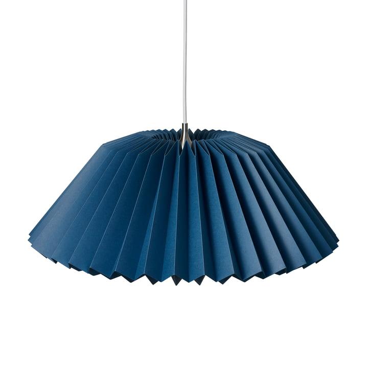 Pleats 116 Megatwo Pendant luminaire L from Le Klint in Indigo Blue