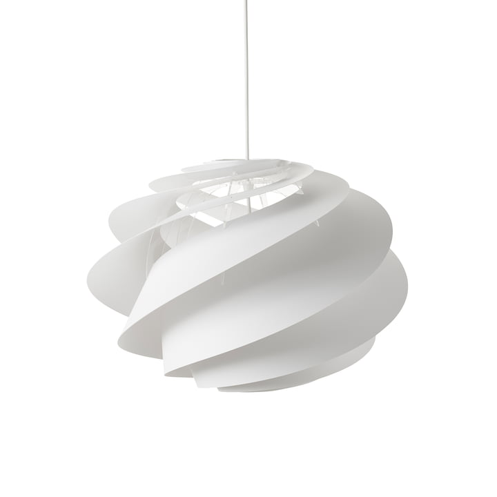 Swirl 1 Pendant Lamp Ø 45cm by Le Klint in White