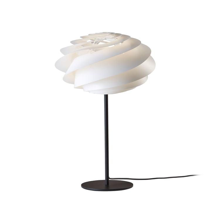 Swirl Table Lamp Ø 32 cm by Le Klint in White