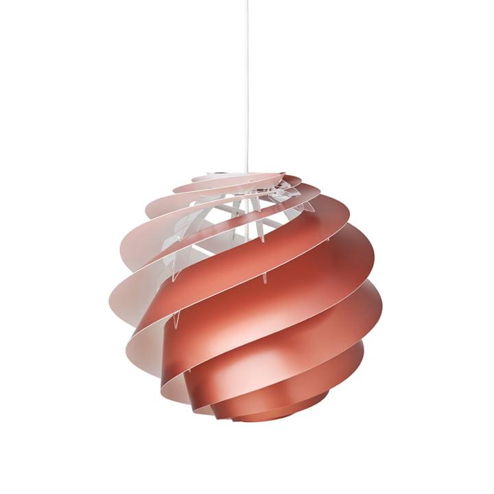 Swirl 3 Pendant lamp Ø 40 cm from Le Klint in copper