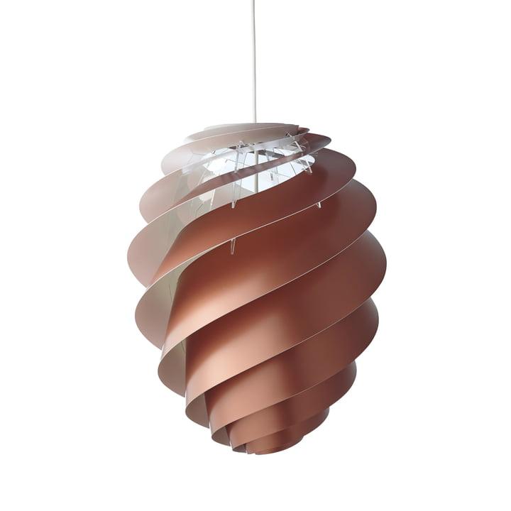 Le Klint - Swirl 2 Pendatn Lamp Ø 36cm, copper