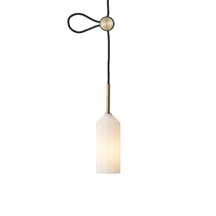Pliverré pendant luminaire from Le Klint in black / white