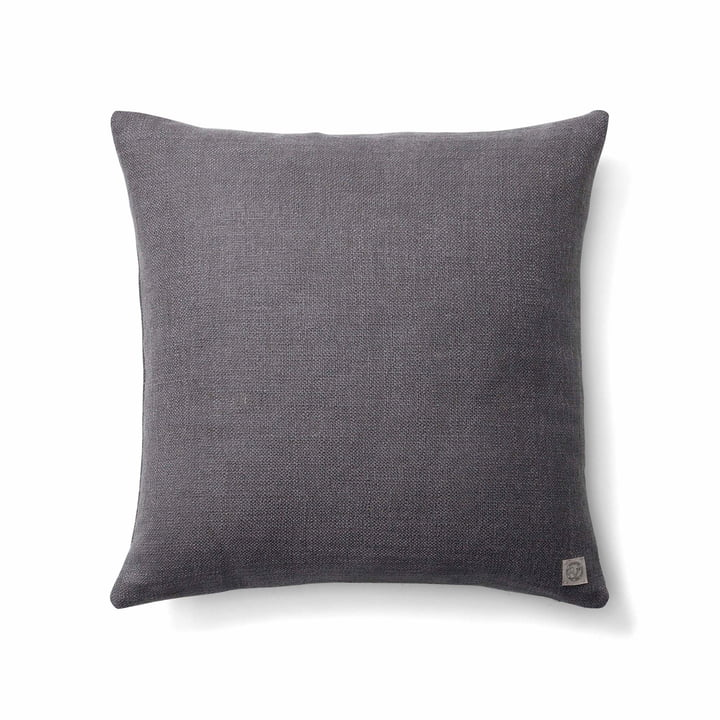 The Collect SC28 cushion heavy linen from & tradition in slate grey