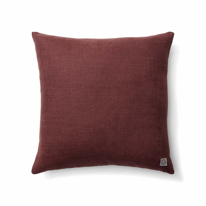 The Collect SC28 cushion heavy linen from & tradition in burgundy