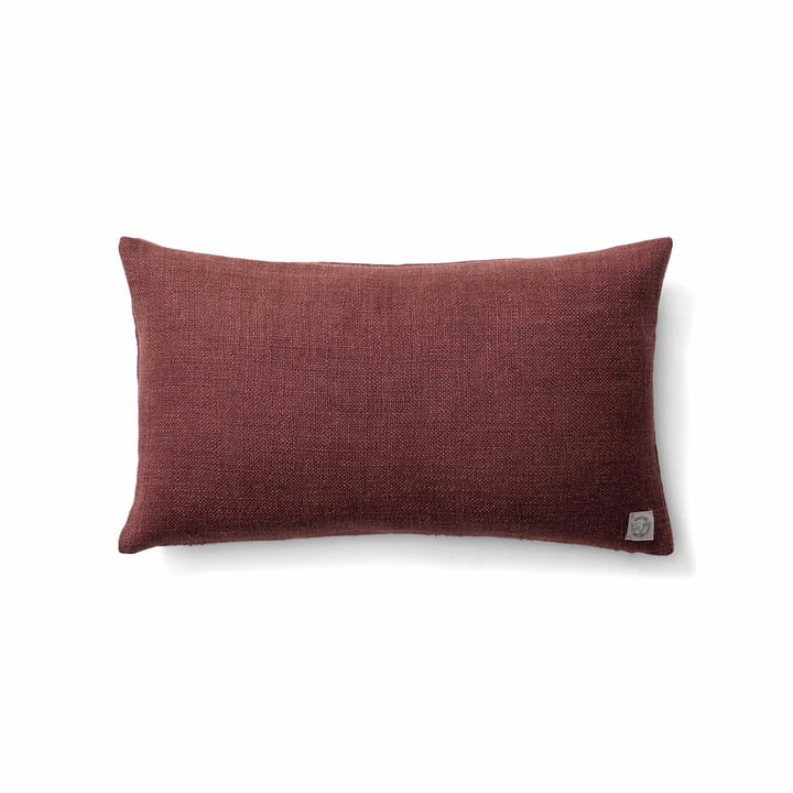 The Collect SC27 cushion heavy linen from & tradition in burgundy