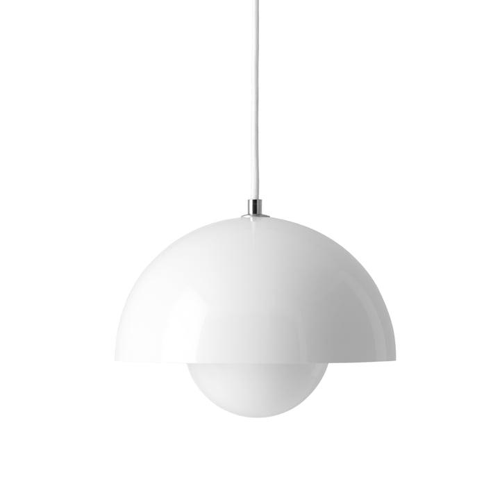 FlowerPot Pendant light from & Tradition in white