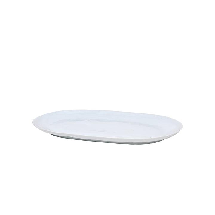 The Shape serving platter from Broste Copenhagen in soft grey