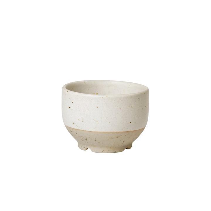 The small Eli bowl from Broste Copenhagen in soft light grey matt