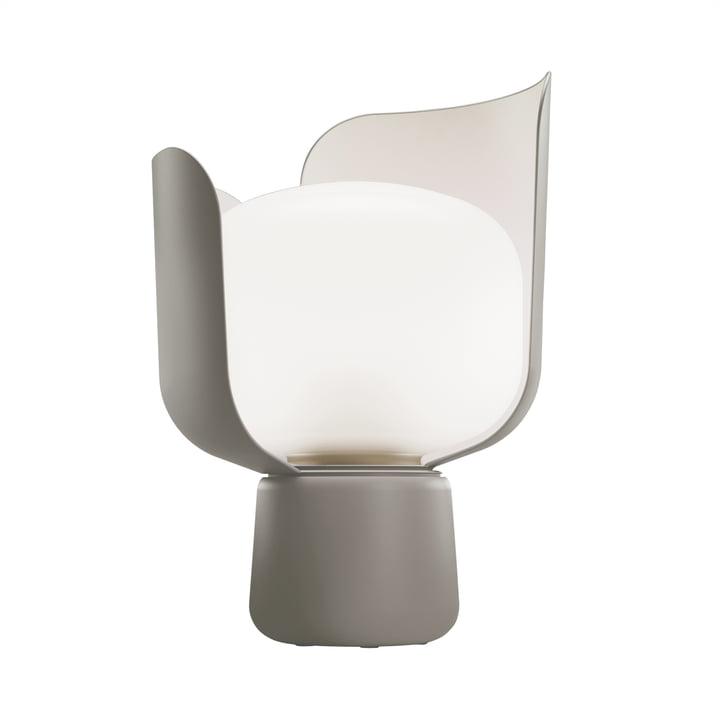 Blom Table lamp from FontanaArte in grey