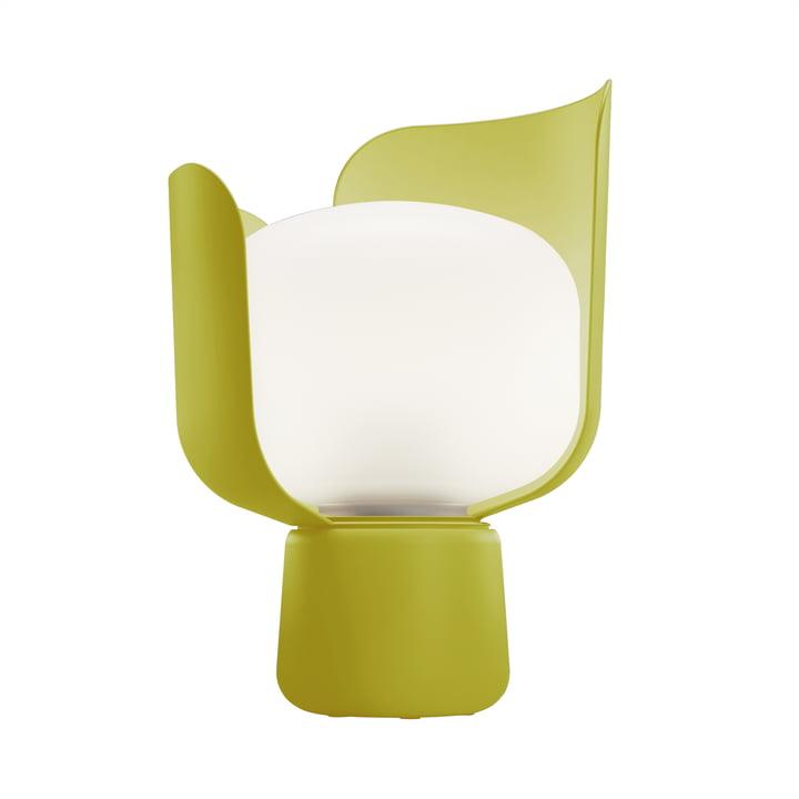 Blom Table lamp from FontanaArte in yellow