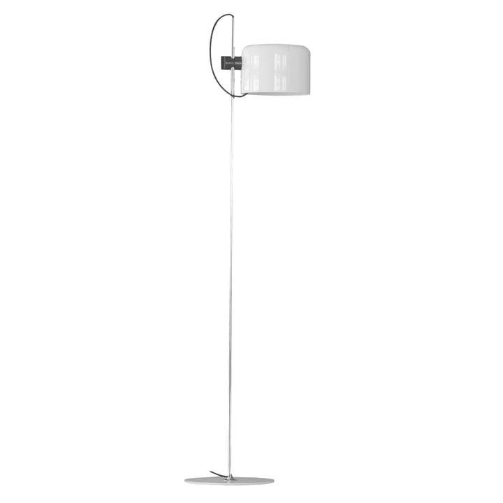 Oluce - Coupé 3321 floor lamp, white