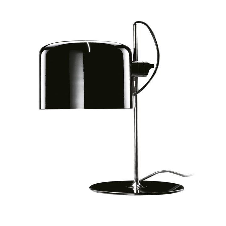 Oluce - Coupé 2202 table lamp, black