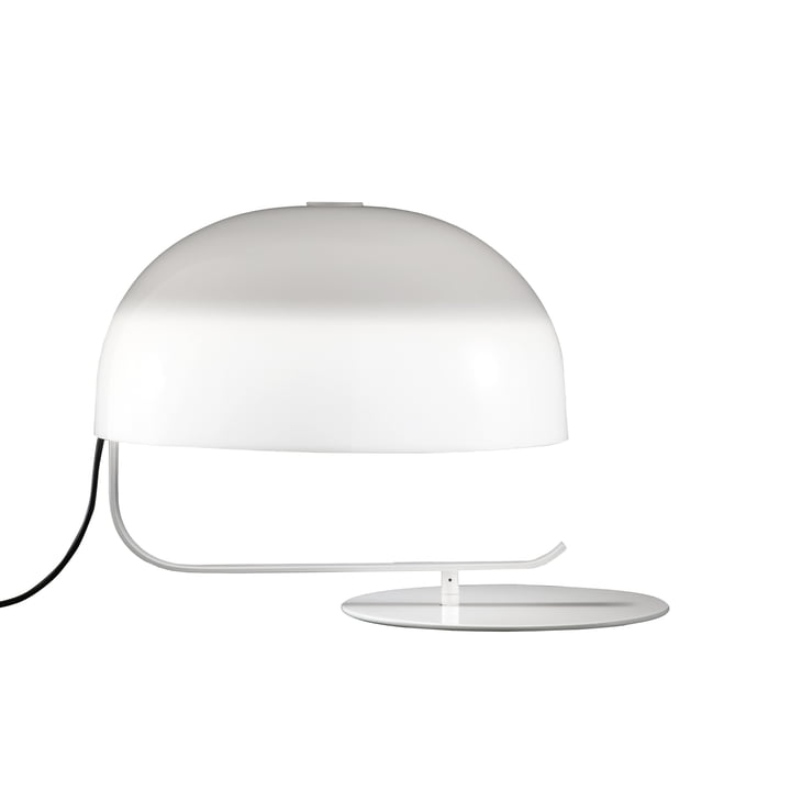 Zanuso Table lamp, white by Oluce