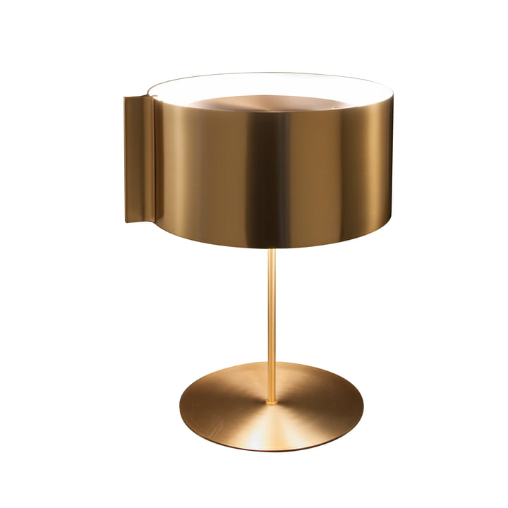 Switch Table lamp, gold by Oluce