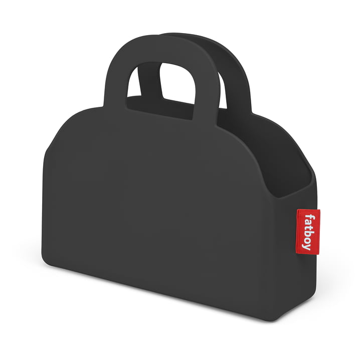 Sjopper-Kees bag and storage basket, anthracite by Fatboy