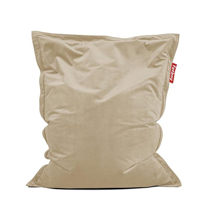 Beanbag Original Slim Velvet recycled , camel from Fatboy