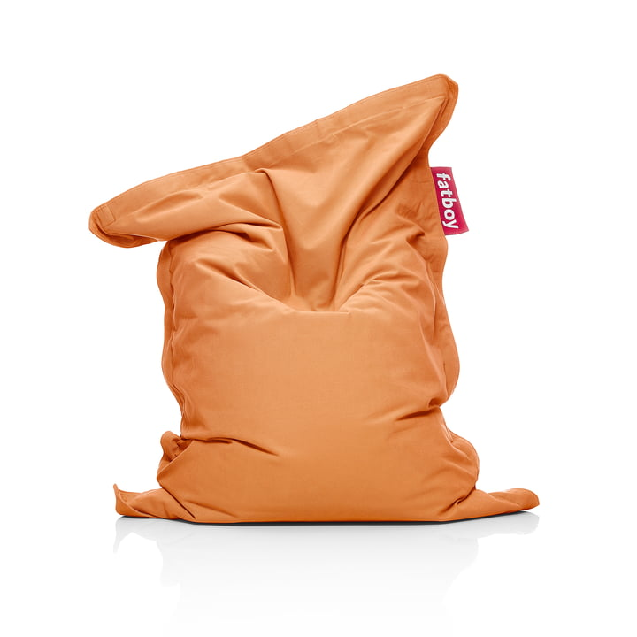 Junior beanbag Stonewashed, orange by Fatboy