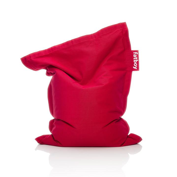 Junior beanbag Stonewashed, red by Fatboy