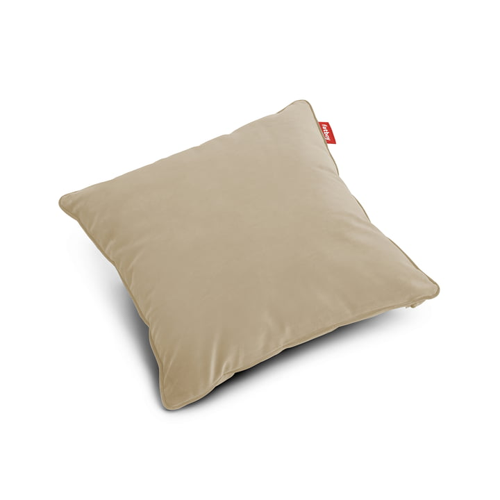 Square pillow Velvet recycled , camel from Fatboy