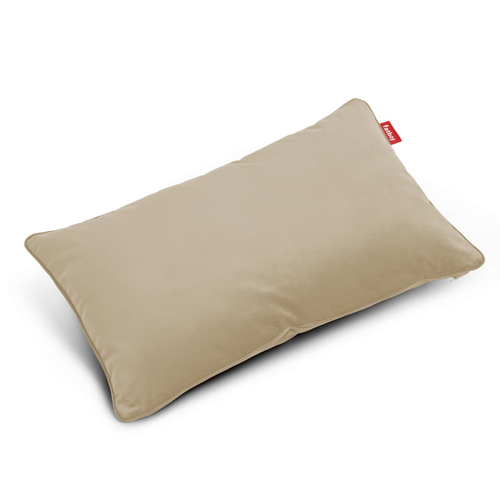 King pillow Velvet recycled , camel from Fatboy