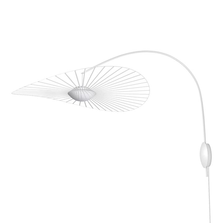 The Vertigo Nova wall lamp from Petite Friture , Ø 110 cm, white