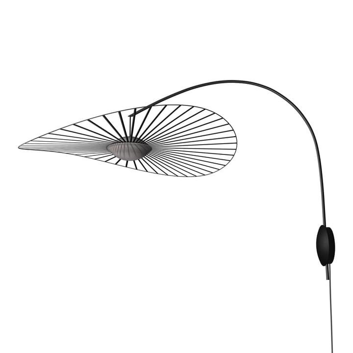 The Vertigo Nova wall lamp from Petite Friture , Ø 110 cm, black