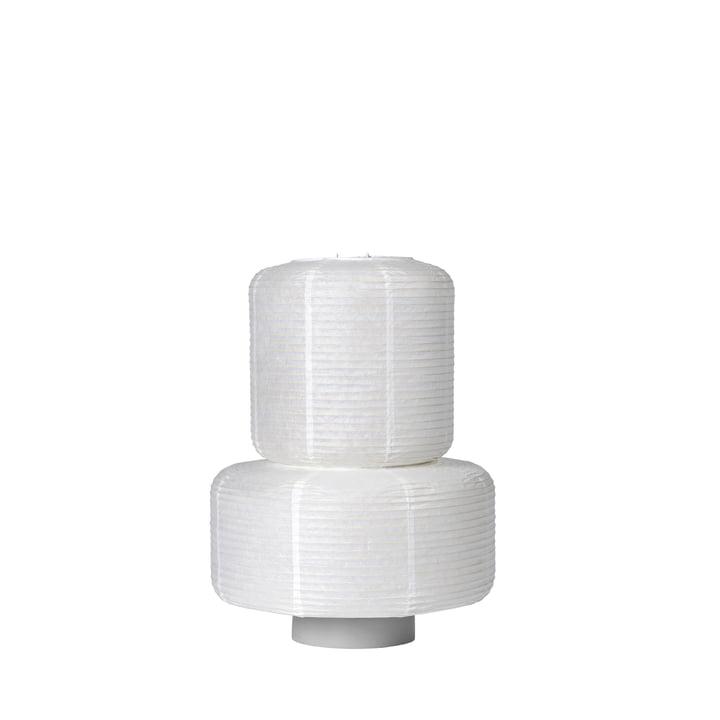 The William rice paper lampshade from Broste Copenhagen in white, Ø 36 x H 43 cm
