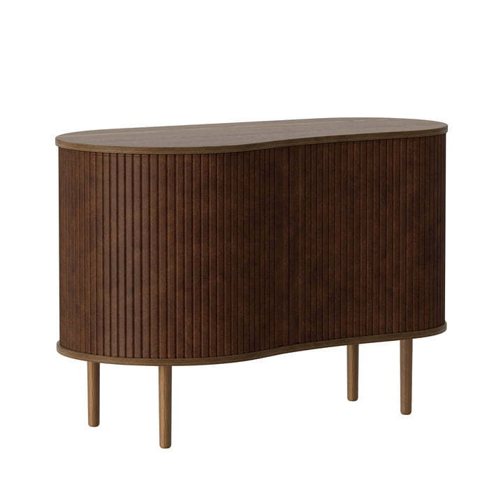 The Audacious chest of drawers from Umage in dark oak / hazelnut