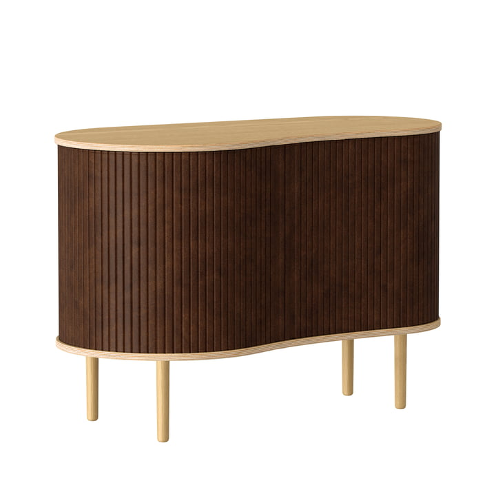 The Audacious chest of drawers from Umage in natural oak / hazelnut
