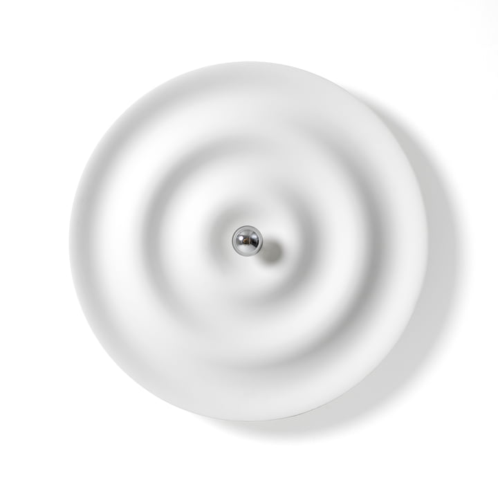 Alma Wall and ceiling light from Wästberg in signal white