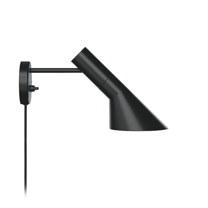 AJ wall lamp from Louis Poulsen in black