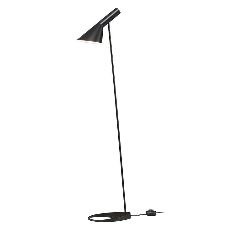 AJ floor lamp in black from Louis Poulsen