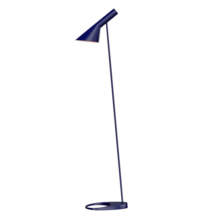 AJ floor lamp from Louis Poulsen in midnight blue